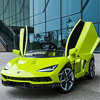 Детский электромобиль Lamborghini (2 мотора по 45W, USB) Bambi M 4319EBLR-5 Зеленый