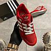 Adidas ZX 750 Red/Whtie (Красный), фото 2