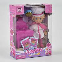 Кукла-повар К 899-18 (192/2) плита, аксессуары, в коробке