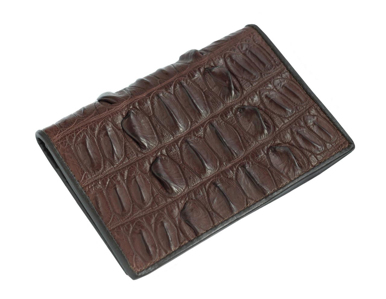Обложка для паспорта  Ekzotic Leather Коричневый (cp02)