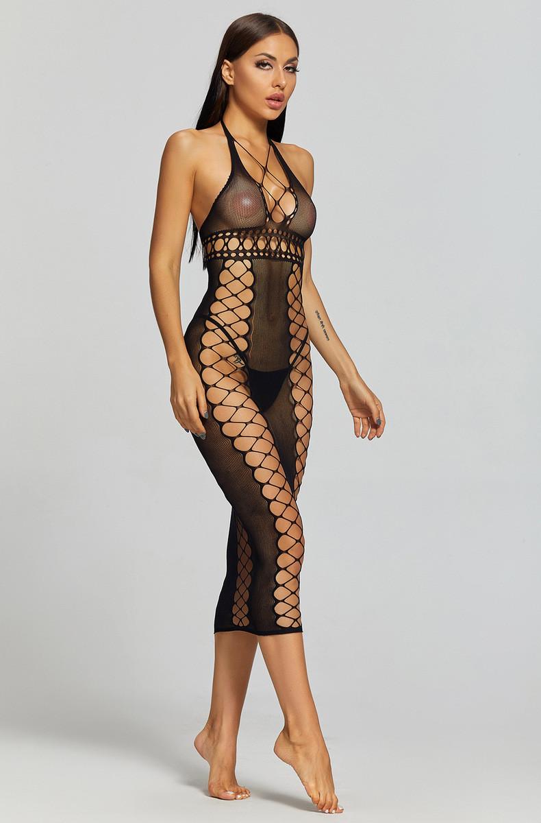 Сексуальное белье пеньюар-сетка сексуальное белье эротическое белье