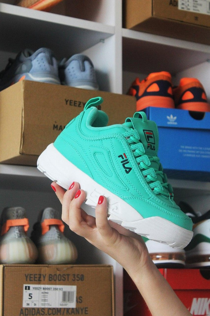 Fila Disruptor 2 Mint Green (Бирюзовый)