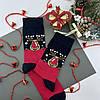 Набор мужских новогодних носков стрейчевых Новый Год, фото 2
