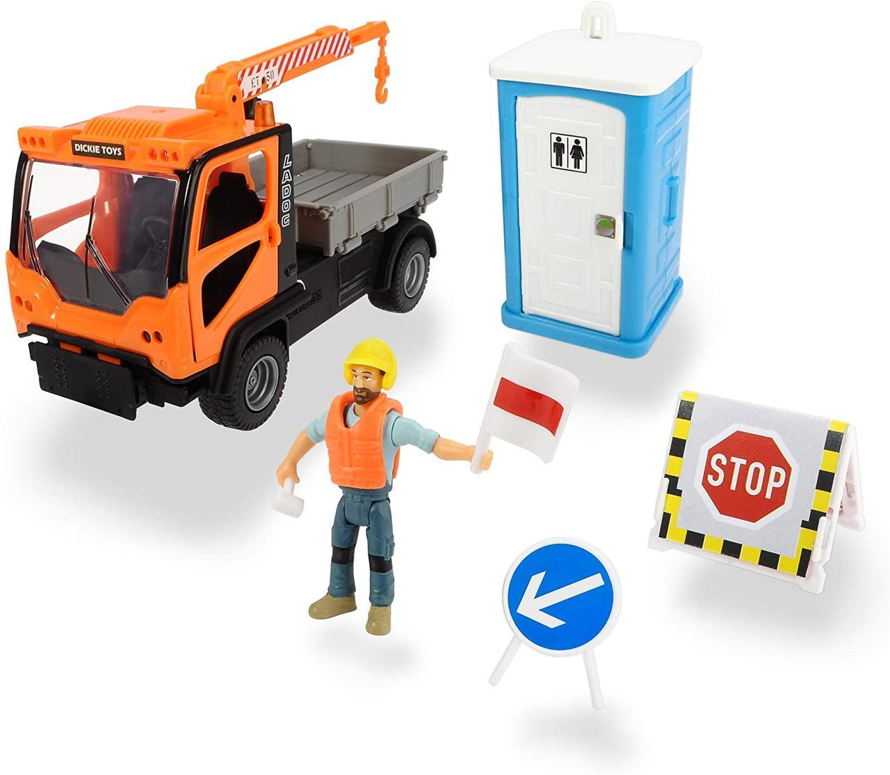 Игровой набор Playlife. Муниципальное авто со звуковыми эффектами Dickie Toys 3835005