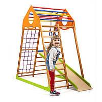 Детский спортивный комплекс для дома KindWood  SportBaby , фото 1