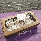 Зефир натуральный на агаре (6 шт. из 2-х половинок) в коробочке. Палитра вкусов на выбор, 200 грамм, фото 4