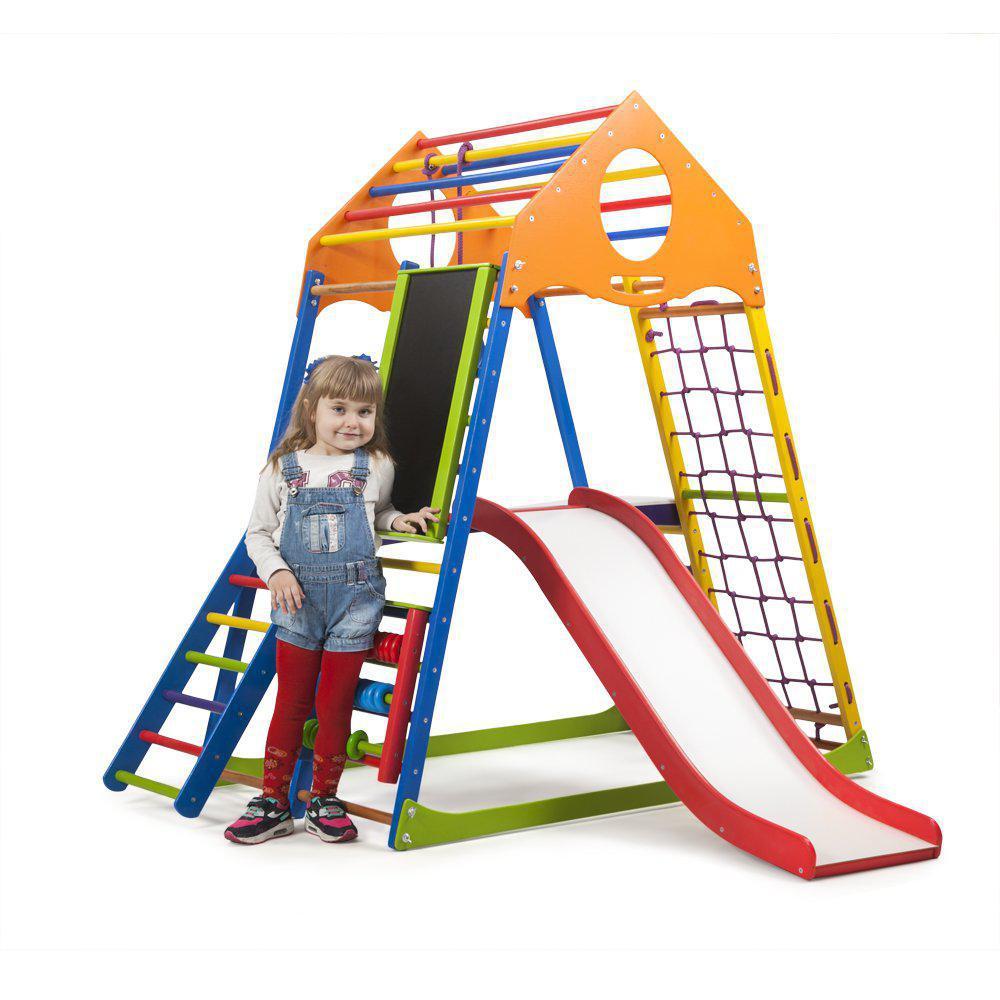 Детский спортивный комплекс KindWood Color Plus 3  SportBaby