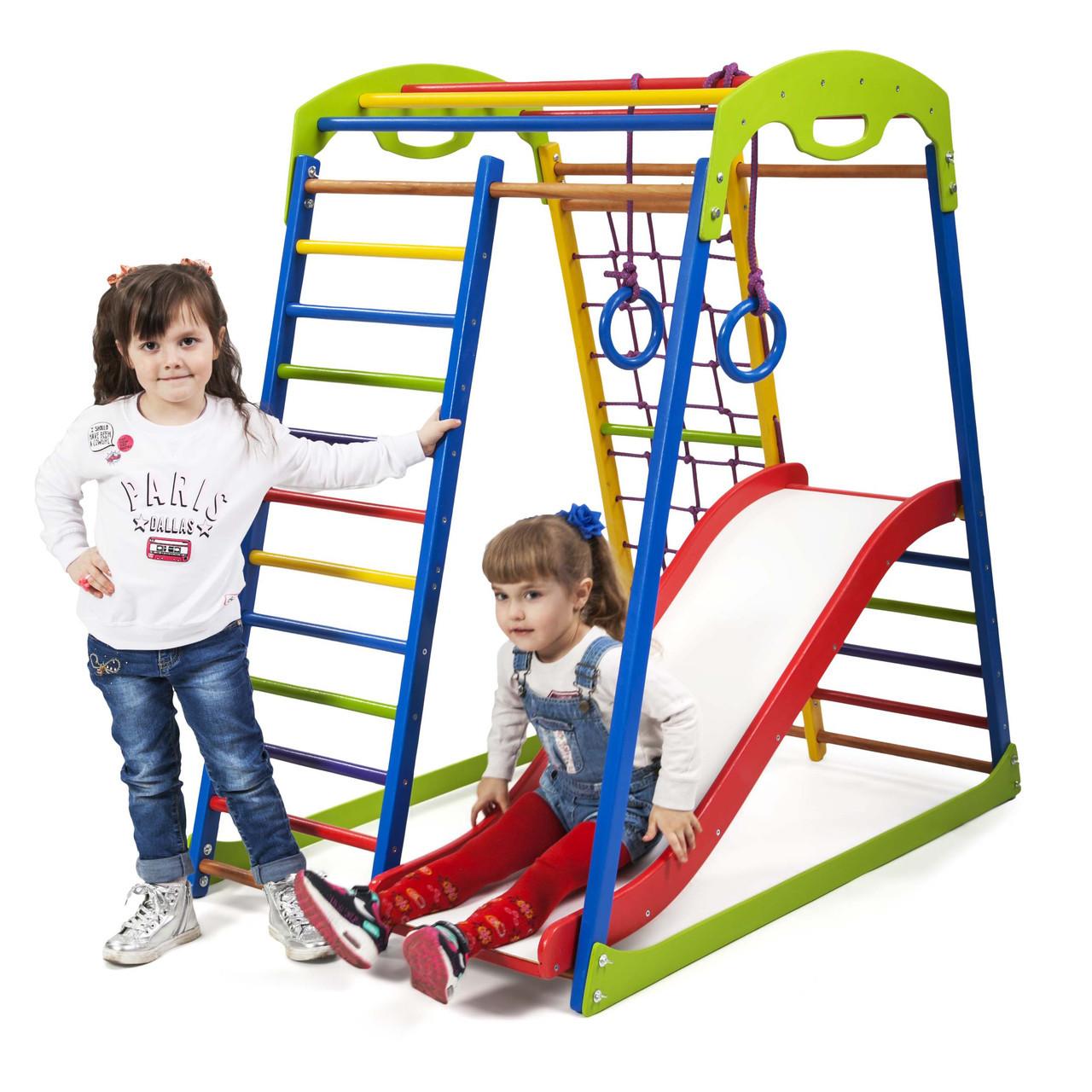 Детский спортивный комплекс для дома SportWood  Plus 1  SportBaby
