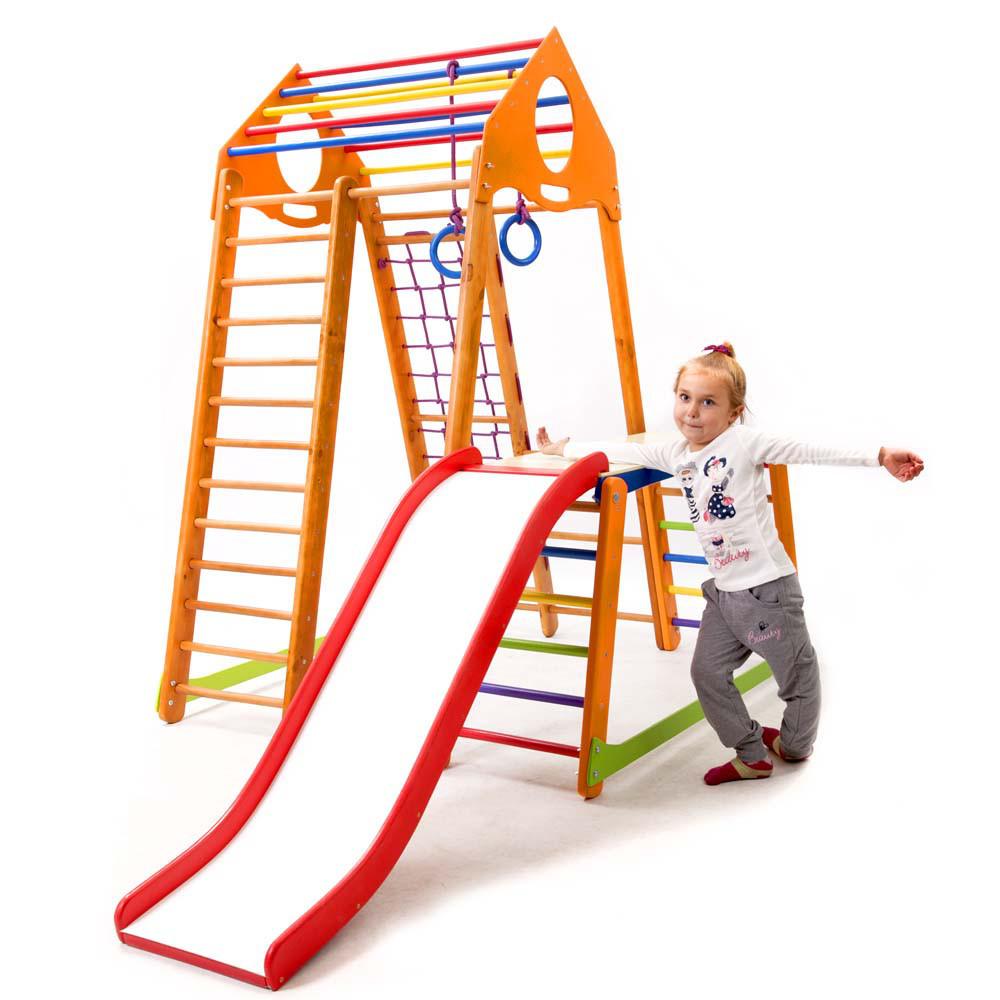 Детский спортивный комплекс  BambinoWood Plus 1-1  SportBaby