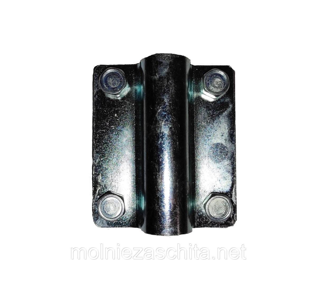 Соединитель штыря заземления Ф16 и полосы/катанки оцинкованной