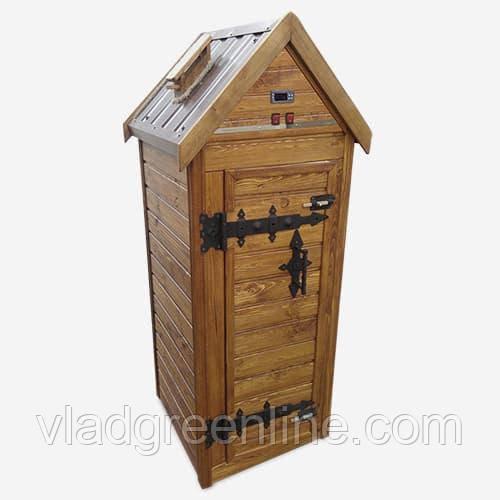 Деревянная коптильня для холодного и горячего копчения Drevos Классик 1.0 (до 30 кг)