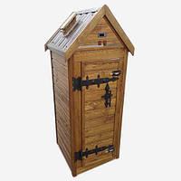 Деревянная коптильня для холодного и горячего копчения Drevos Классик 1.0 (до 30 кг), фото 1