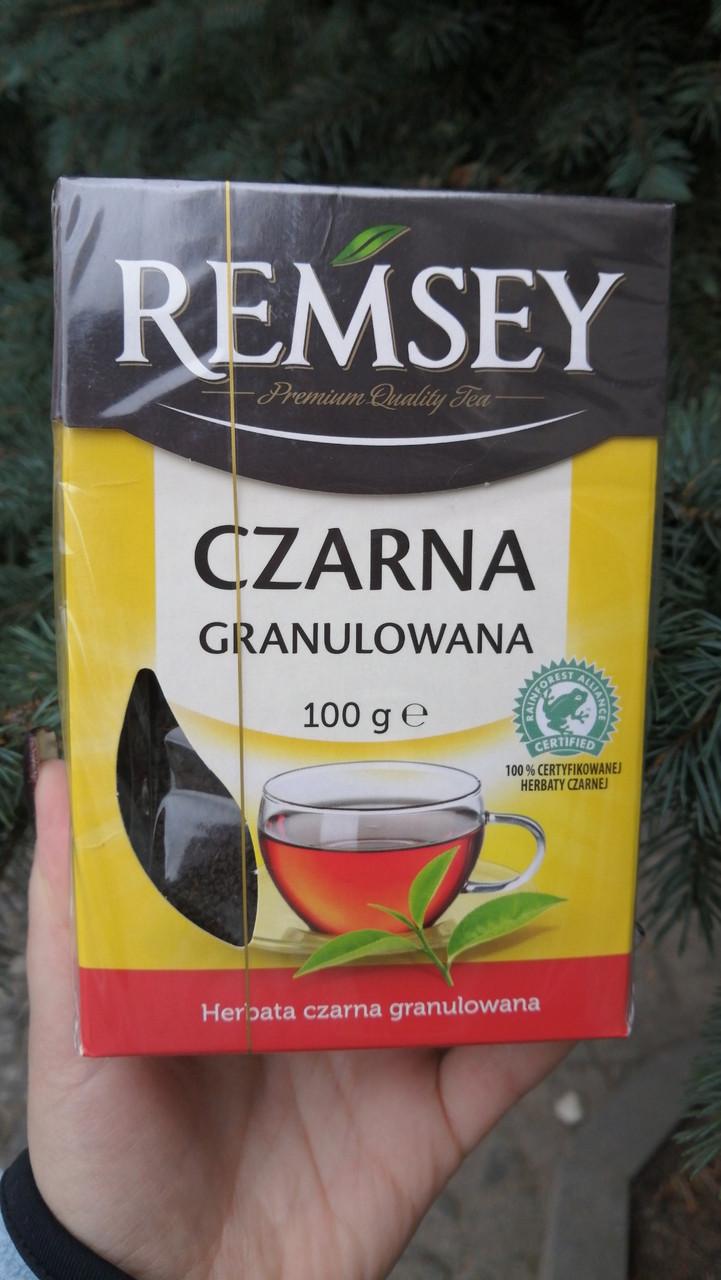 Чай чёрный гранулированый Remsey