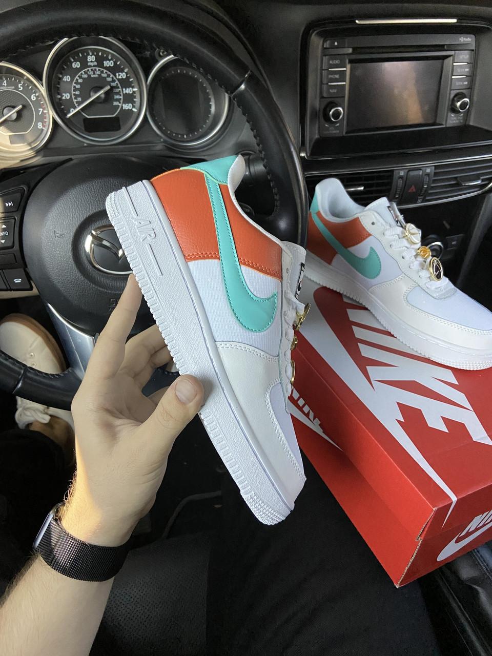 Nike Air Force 1 Cosmic Clay (Белый)