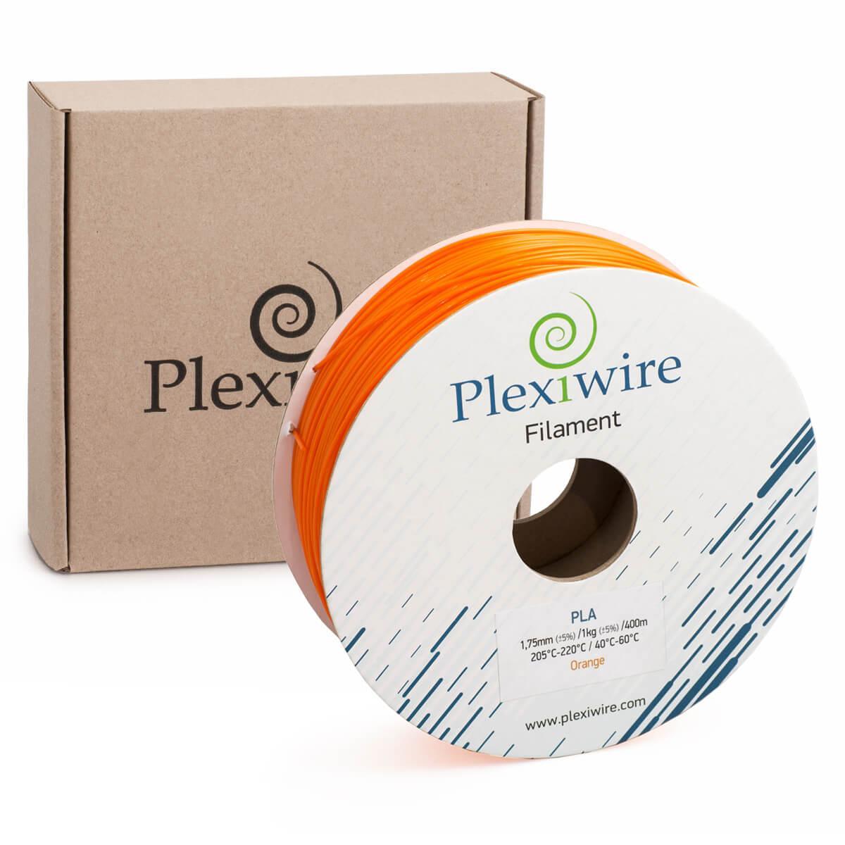 PLA пластик для 3D принтера 1.75 мм Помаранчевий (400 м / 1.185 кг)