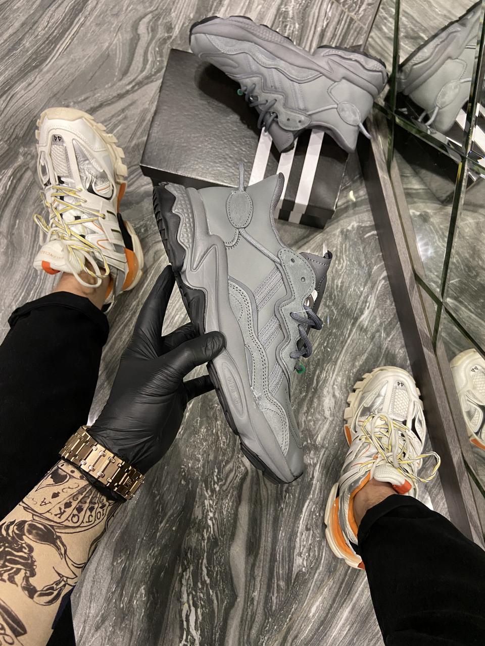 Adidas Ozweego Dark Grey (Cерый)