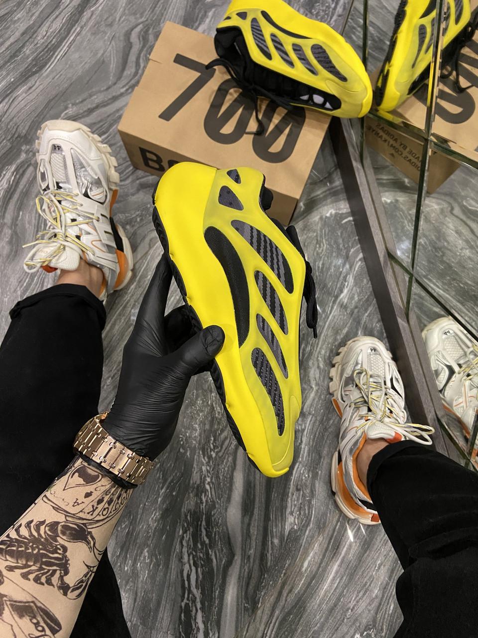 Adidas Yeezy Boost 700 V3 Yellow Black (Жёлтый)