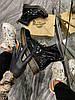 Dr Martens 1460 Black Gloss (Деми) (Чёрный), фото 2
