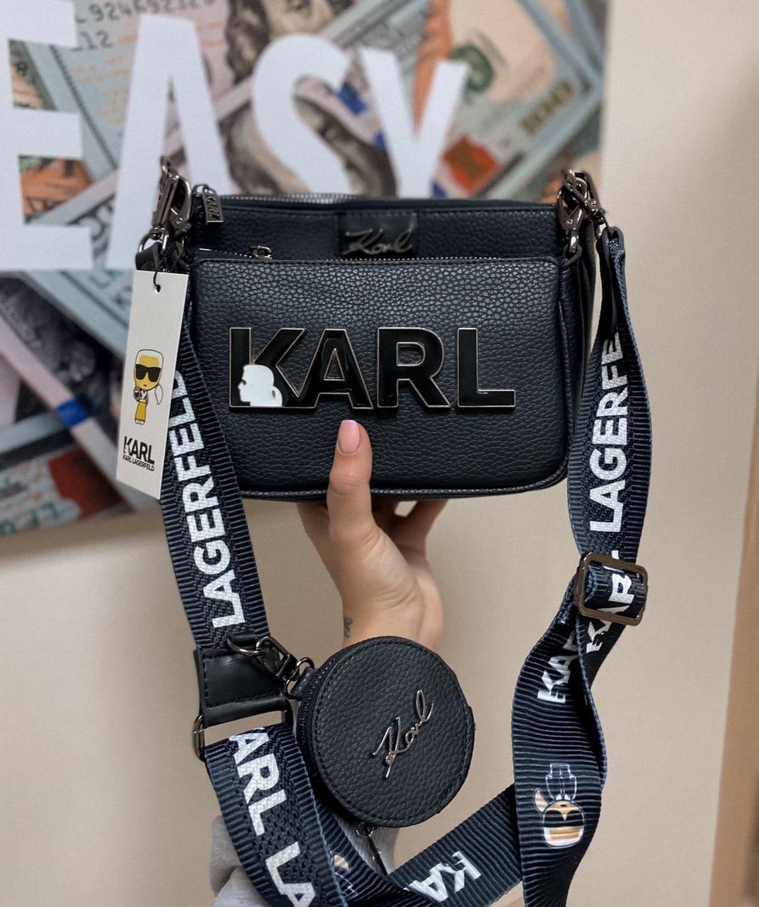 "Сумка Karl Lagerfeld ""Чорна"""