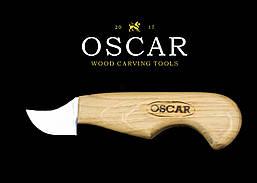Ніж топірець для різьби по дереву OSCAR