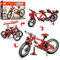 Дитячий конструктор Велосипед-трансформер, для дітей від 6 років, 306 деталей