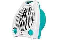 Тепловентилятор для дома и офиса Rotex RAS01-H Blue (2000 Вт,20 м2,холодный обдув,термостат)(Гарантия 12 мес)