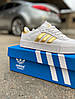 Adidas Samba White Gold (Белый Золотой), фото 4