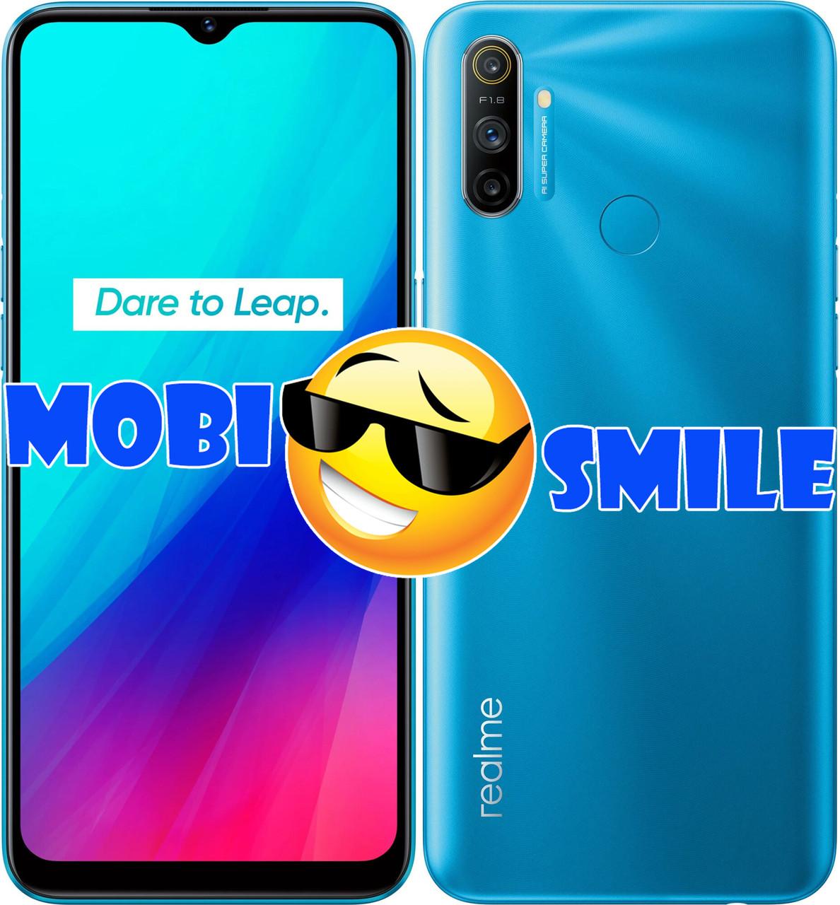 Смартфон Realme C3 2/32Gb Frozen Blue UA UCRF Гарантия 12 месяцев