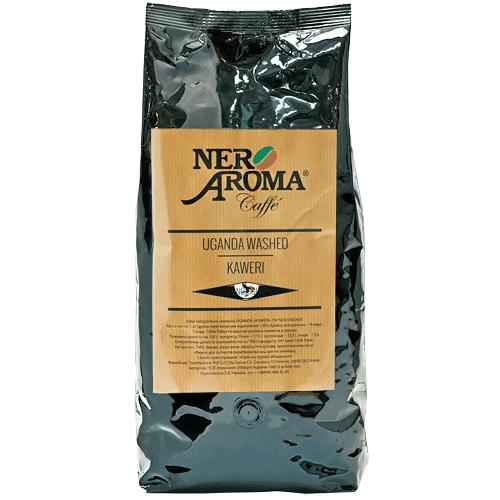 Кофе зерновой Уганда  Nero Aroma Uganda Washed Kaweri 1 кг (робуста)