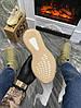 """Женские кроссовки Adidas Yeezy Boost 350 """"Flax"""" (в стиле Адидас), фото 4"""