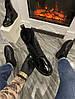 "Женские ботинки в стиле Alexander McQueen Boots Luxury ""Black"", фото 2"