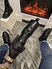 "Женские ботинки в стиле Alexander McQueen Boots Luxury ""Black"", фото 6"