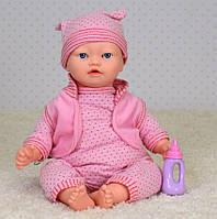 Пупс мягконабивной Limo Toy Малышка ангелочек M 3881-5 UA функциональная со звуковыми эффектами