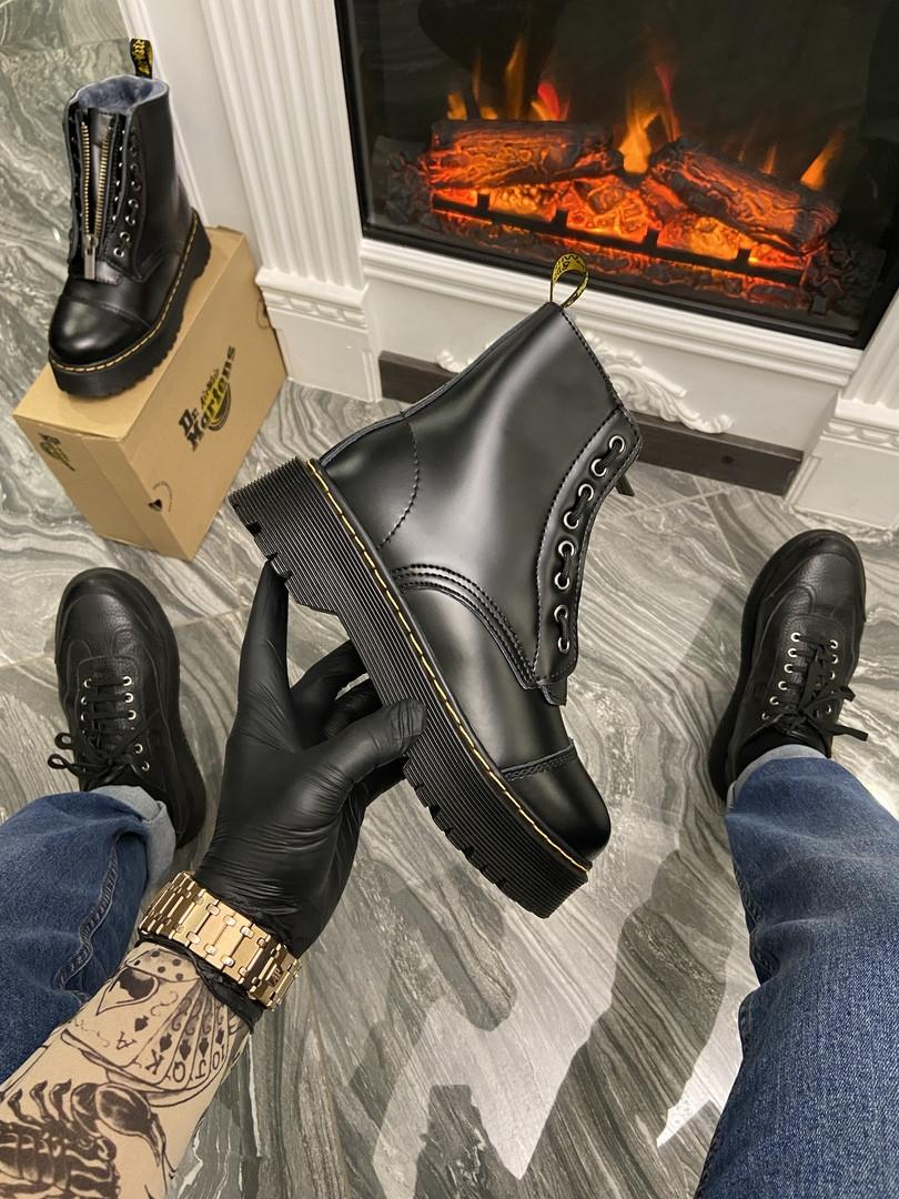 """Женские ботинки в стиле Dr Martens Jadone Sinclair """"Black"""""""