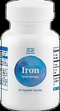 Железо (железа бисглицинат), 14 мг 60 капс. Корал клаб Iron Сoral Сlub Корраловый Клуб