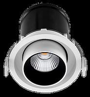 Светильник светодиодный встраиваемый Citilux 12W WH 4100K