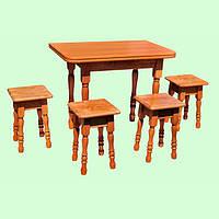 Кухонный гарнитур деревянный, фото 1