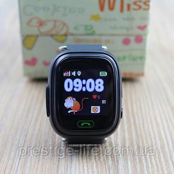 Смарт-часы с GPS, Wi-Fi Smart Baby Watch Q90 Синие