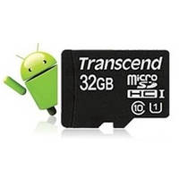 microSDHC Class 10 UHS-I Transcend 32Gb Premium speed 400x