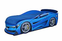 Кровать машина Бмв Турбо синяя, фото 1