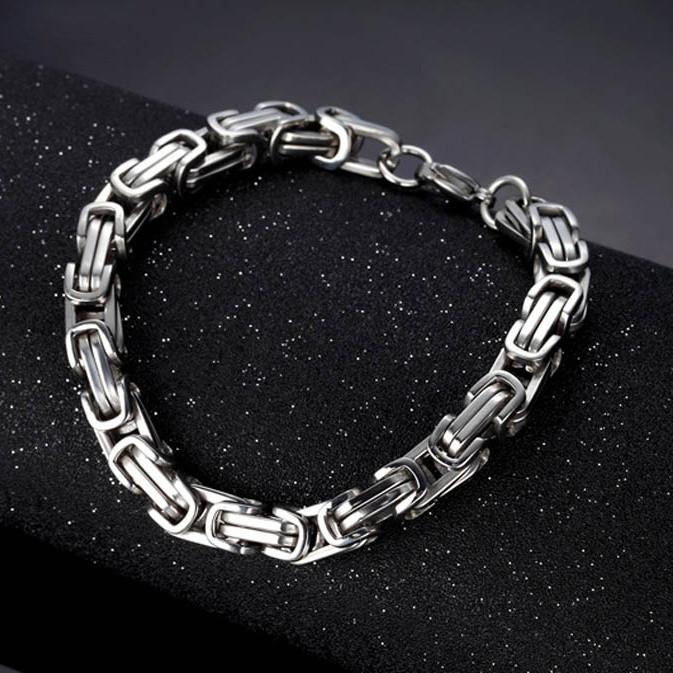 Мужской браслет Steel Rage Silver
