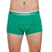 Трусы мужские Lacoste набор 5 штук хлопок в подарочной коробке, фото 3