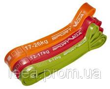 Еспандер-петля, гума для фітнесу та спорту SportVida Power Band 3 шт 8-26 кг SV-HK0190-5 SKL41-227849