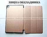 Умный чехол книжка для Samsung Galaxy Tab S6 Lite 10.4 Pink (Ivanaks Tri Fold розовое золото), фото 3