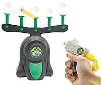 Интерактивная игра Воздушный тир пистолет с дротиками и летающие мишени Hover Shot 184052
