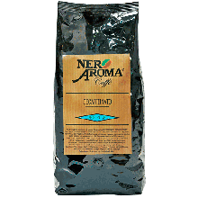 Зерновий кави Бразилія Aroma Nero Decaffeinato 1 кг (арабіка)