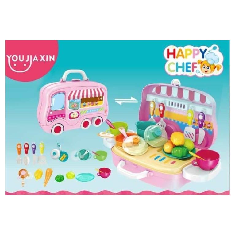 Детская кухня в чемодане Happy Chef 678-101