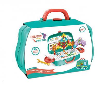 Дитячий набір у валізі Creative Little Drill Box 678-109, фото 2
