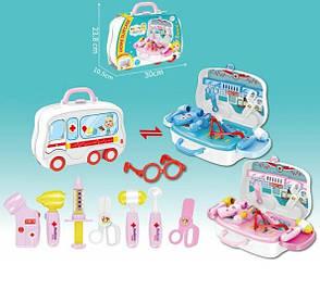 Детский набор в чемодане Happy Doctor 678-102, фото 2