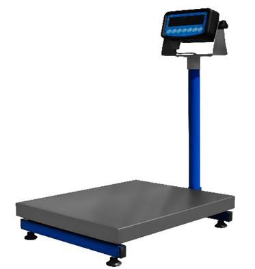 Напольные товарные весы ВИС 150ВП1 (150 кг 400х500 мм) премиум